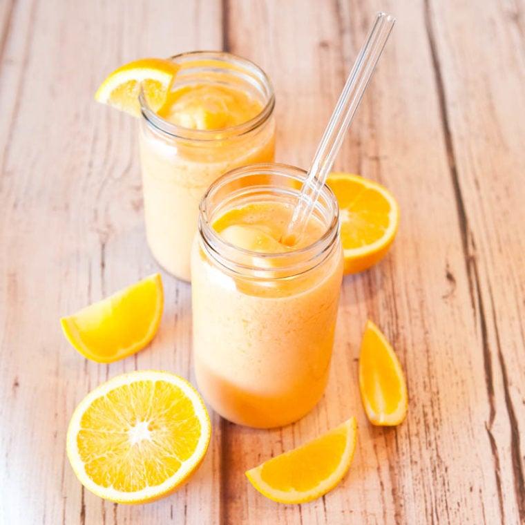 Orange Push-Up Smoothies