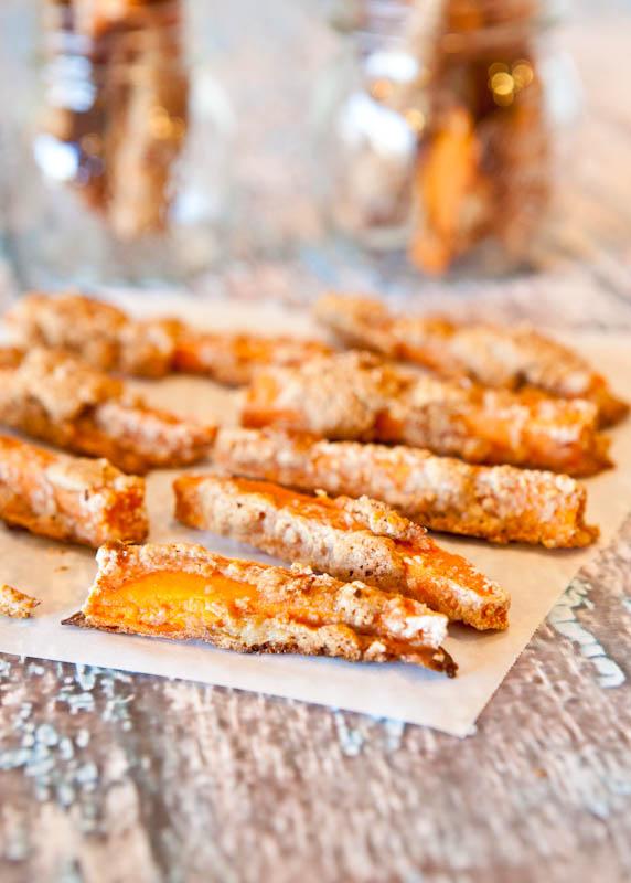 Graham Cracker sweet potatoes sticks