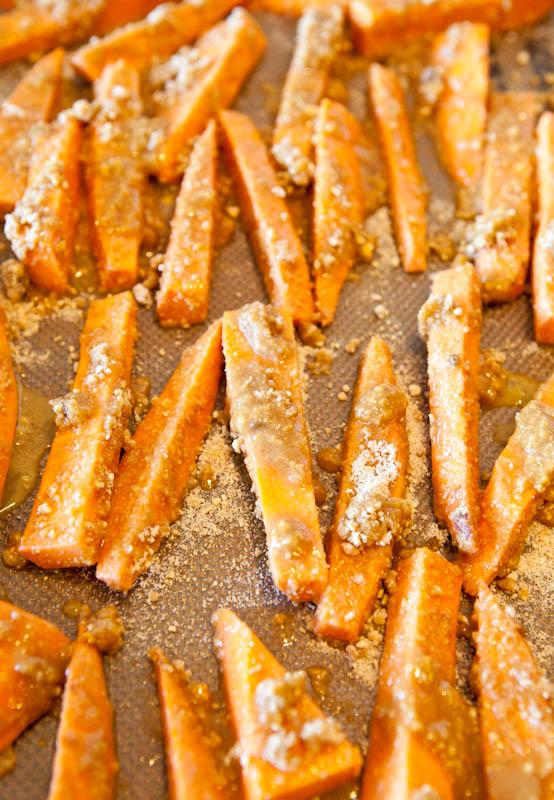 Graham Cracker sweet potatoes before cooking