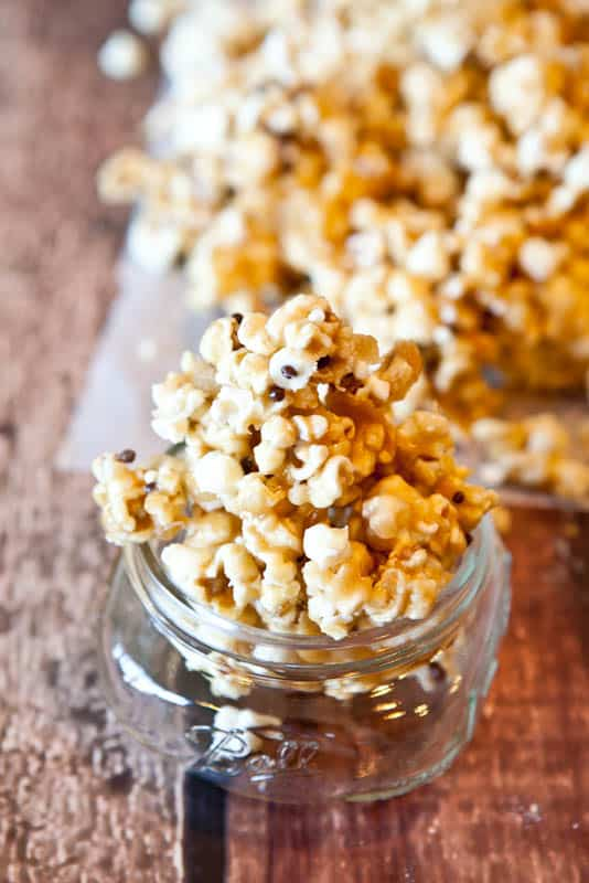 ... Cake Batter and White Chocolate Chip Caramel Corn - Averie Cooks
