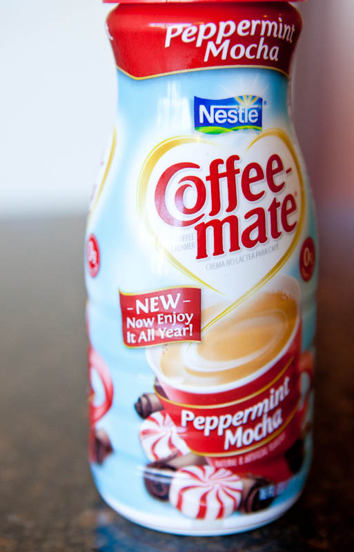 Peppermint Mocha Coffee-Mate creamer