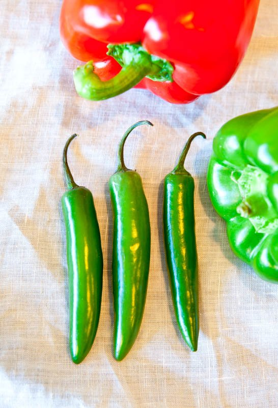 Green jalepeno peppers