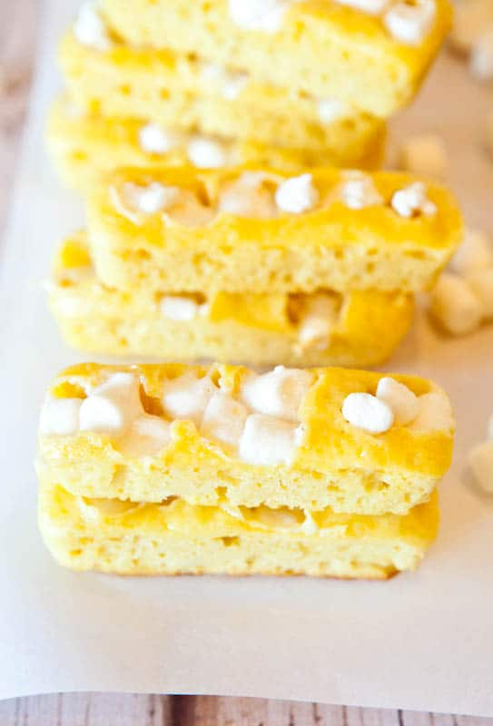 Homemade twinkies with marshmallows
