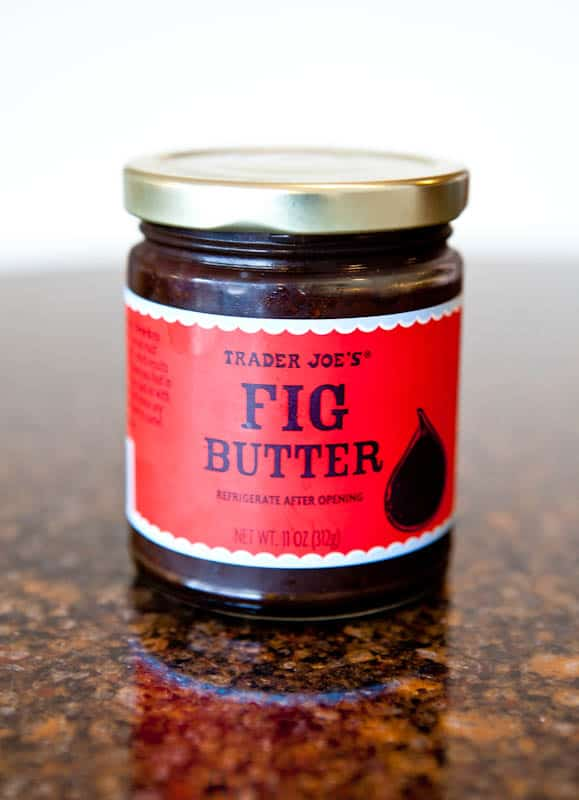 Can of Trader Joe's Fig Butter