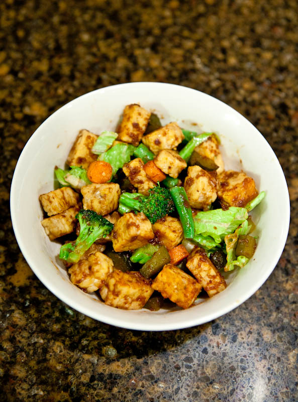 Fig Butter & Cumin Tempeh Stir Fry