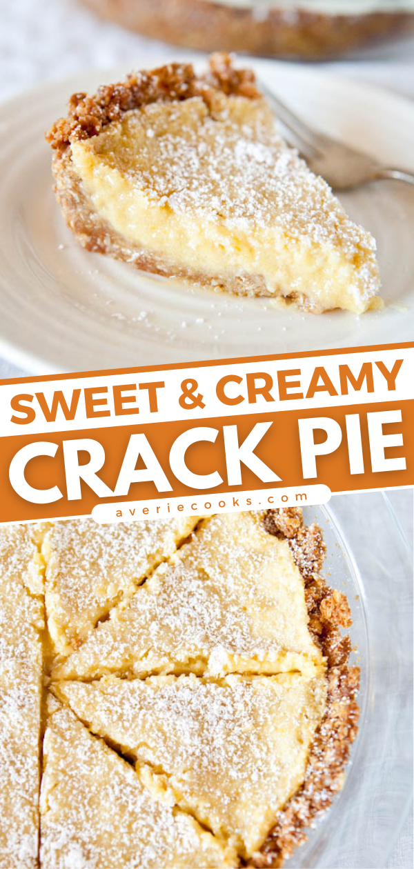 Crack Pie— This recipe lives up to its name and everyone should try this pie at least once!! It's a fairly involved recipe from Christina Tosi's Momofuku Milk Bar cookbook, but I promise the effort is worth it!