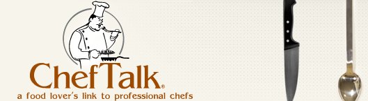 Chef Talk, a food lover's link to professional chefs