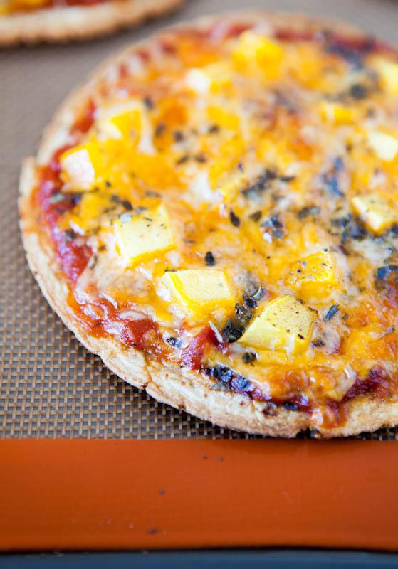 Mango Basil Personal-Sized Tortilla Pizza