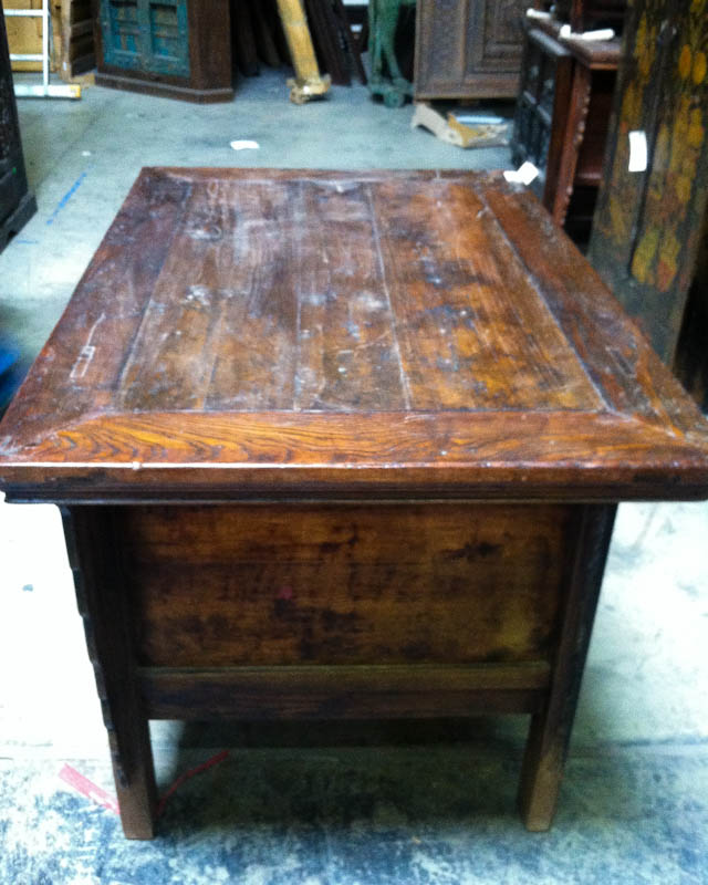 wooden Chinese writing table