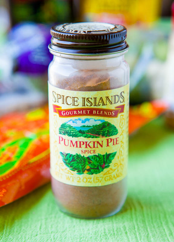Spice Islands Pumpkin Pie Spice in jar