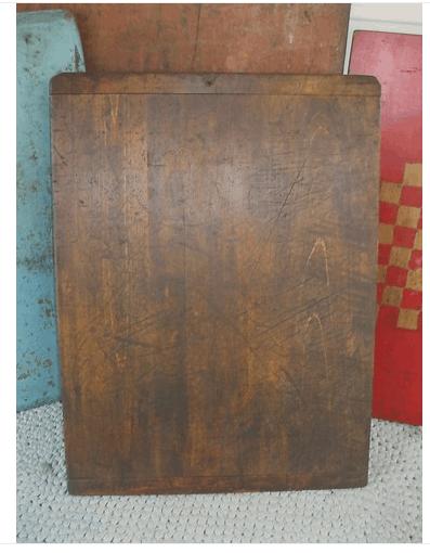 antique pine wood dough board