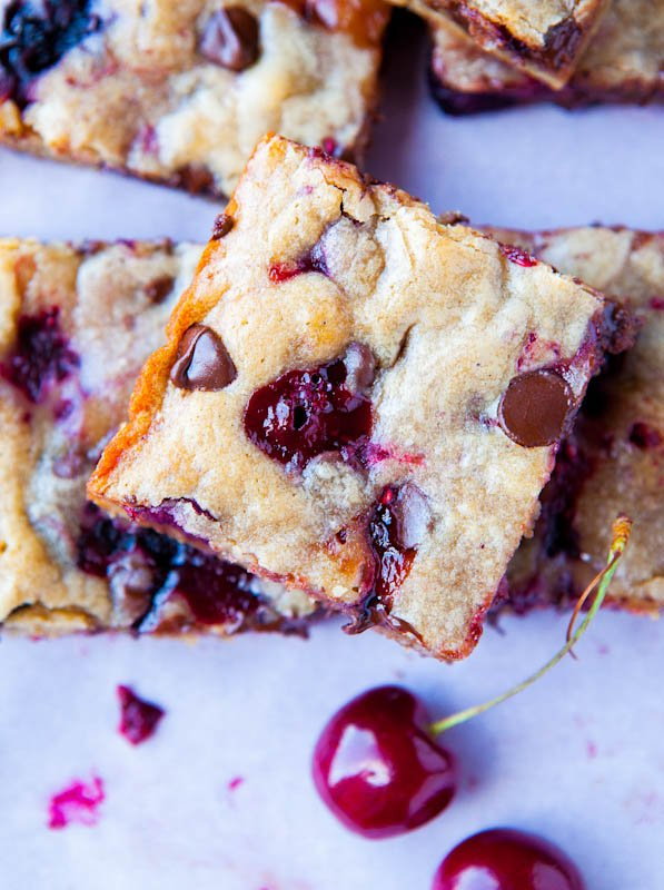 Chocolate Chip Cherry Bar