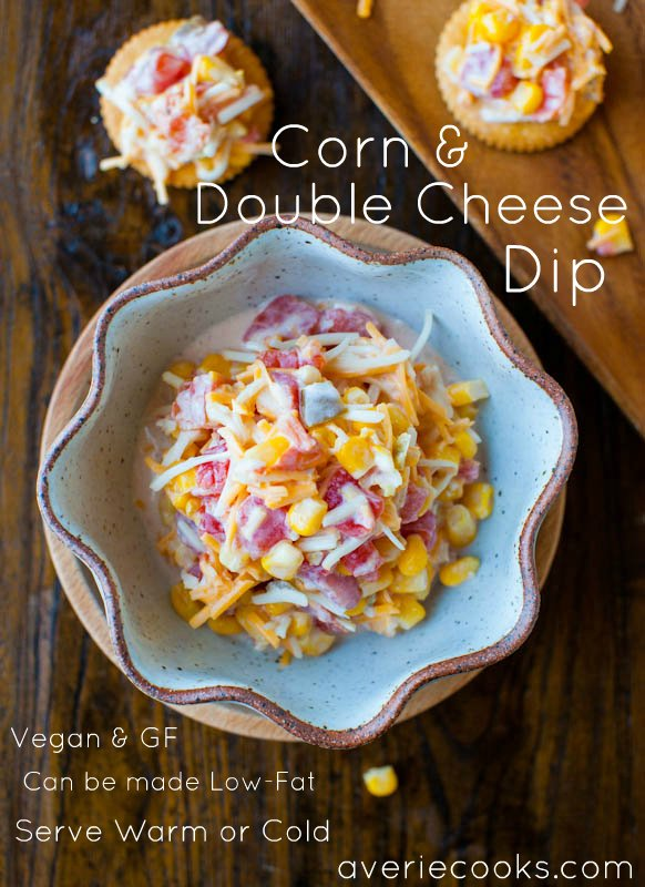 Corn & Double Cheese Dip