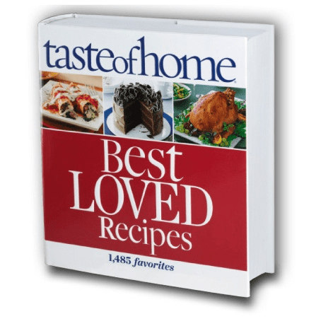 Taste of Home Best Loved Recipes Cover
