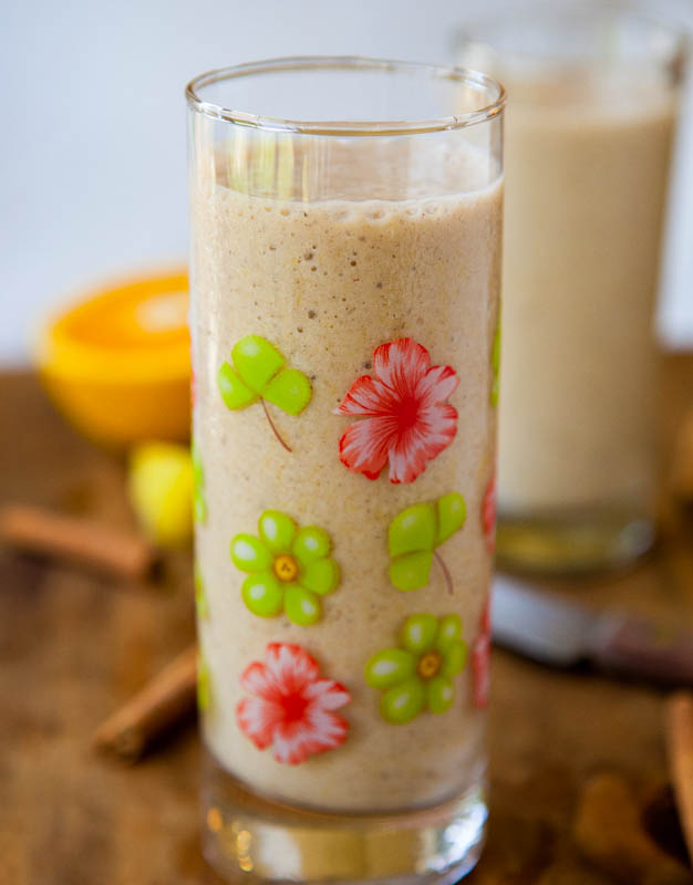 Citrus and Spice Smoothies