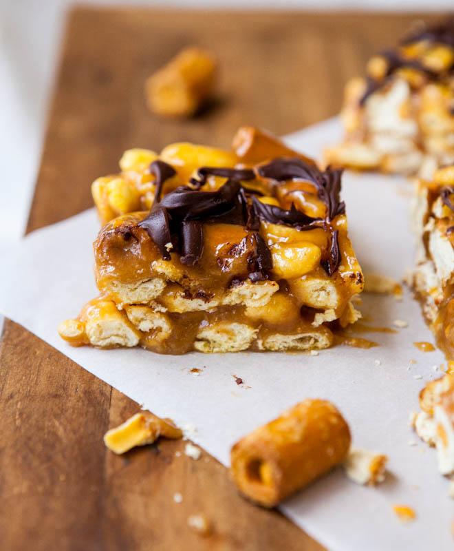 Combos Pretzel and Salted Caramel Peanut Butter Bar