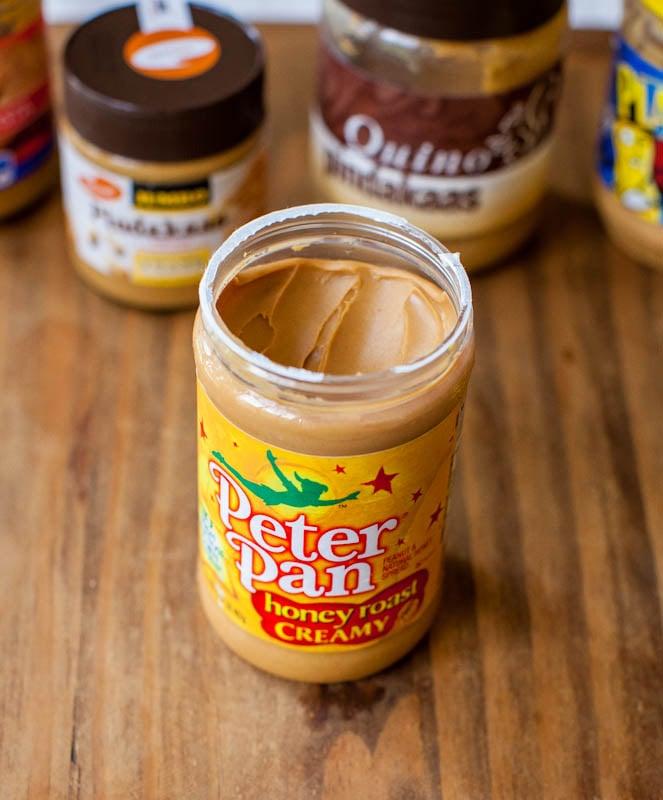 Peter pan honey roasted peanut butter jar