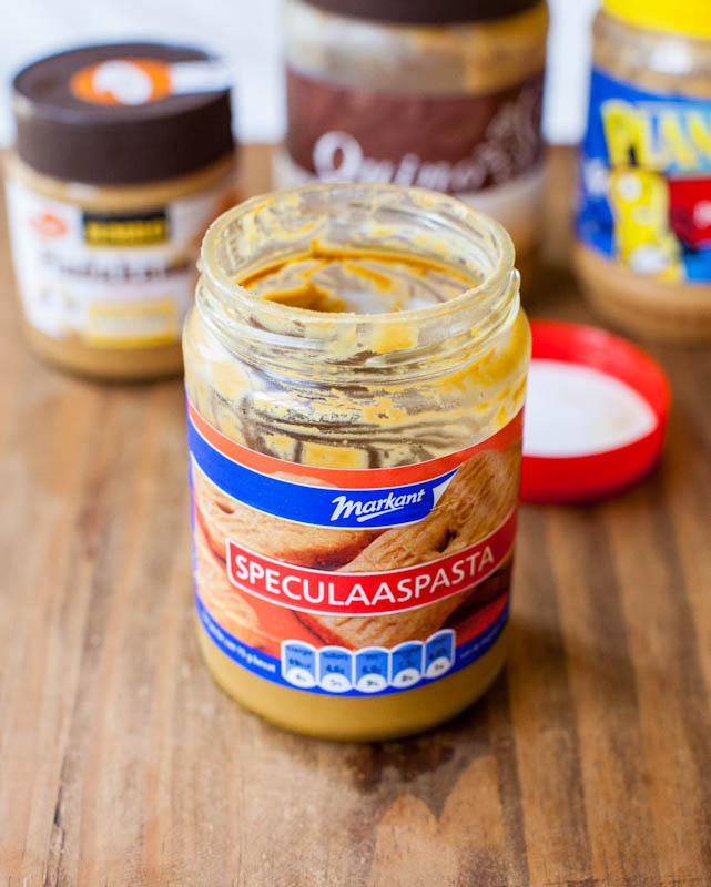 Speculaaspasta cookie butter spread