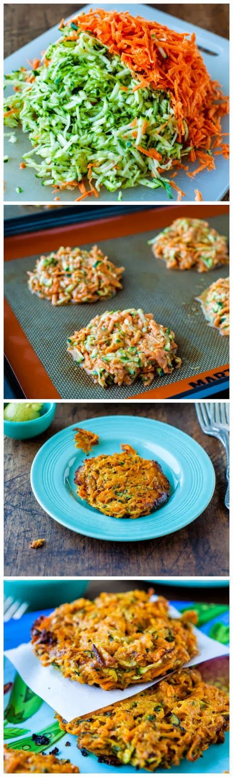 Baked Chipotle Sweet Potato And Zucchini Fritters Averie Cooks
