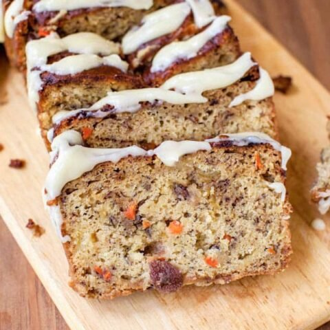 Makes one 9-by-5-inch loaf (I made as one 9-by-5-inch loaf but suggest dividing batter among two 8-by-4-inch loaves and reduce baking time by about 10 minutes; or bake as a 10- or 12-cup Bundt cake, adjusting baking time as necessary)