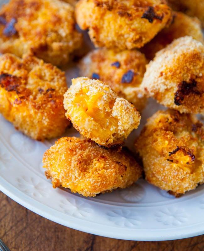 Macaroni and Cheese Baked Cheese Balls