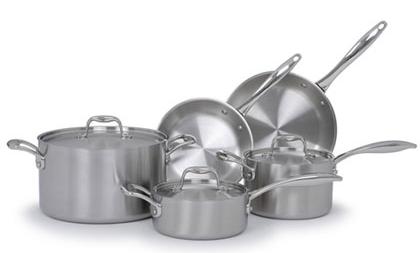 8-piece cookware set from BlueStar