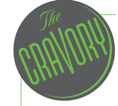 The Cravory Cookies logo