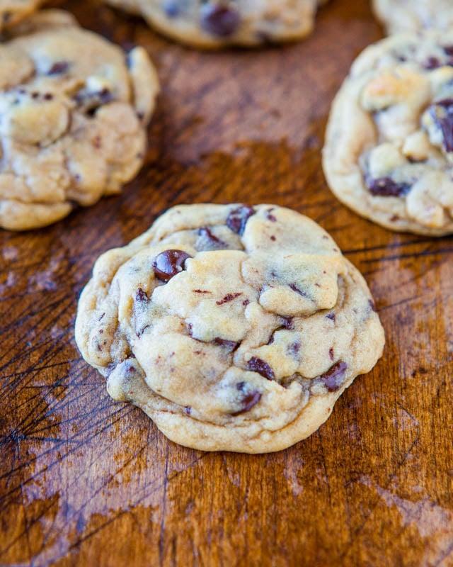 chunky chocolate chip cookie