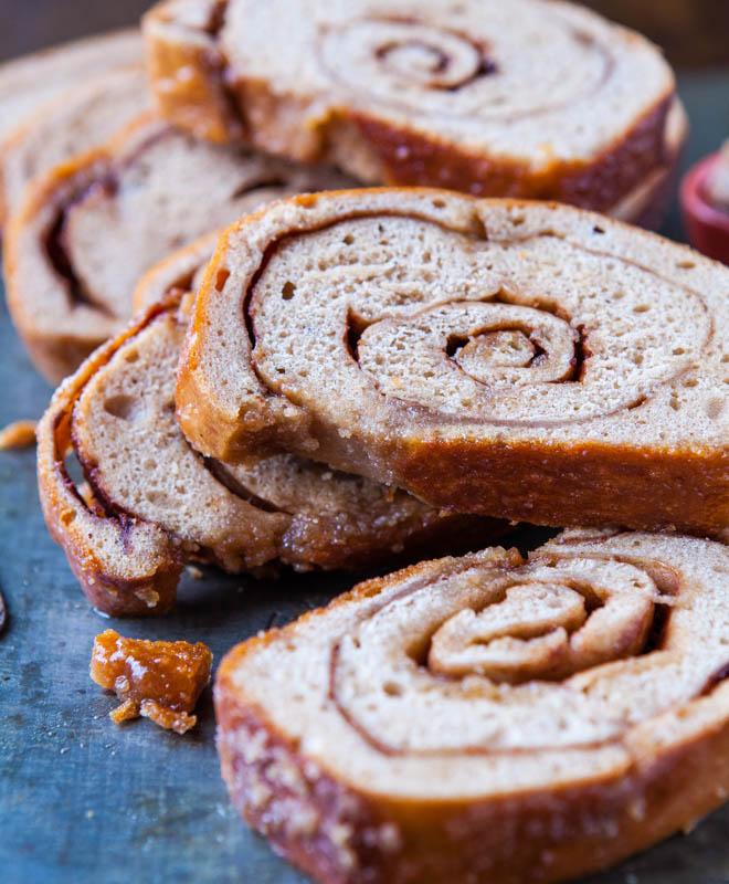 Cinnamon Swirl Bread sliced