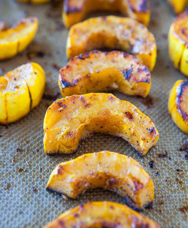 Spicy Honey Chipotle Squash And Sweet Potatoes Over Brown Rice Recipes ...