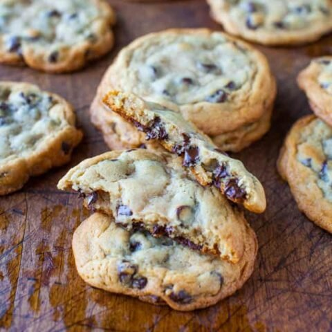 New York Times Chocolate Chips Cookies {from Jacques Torres}