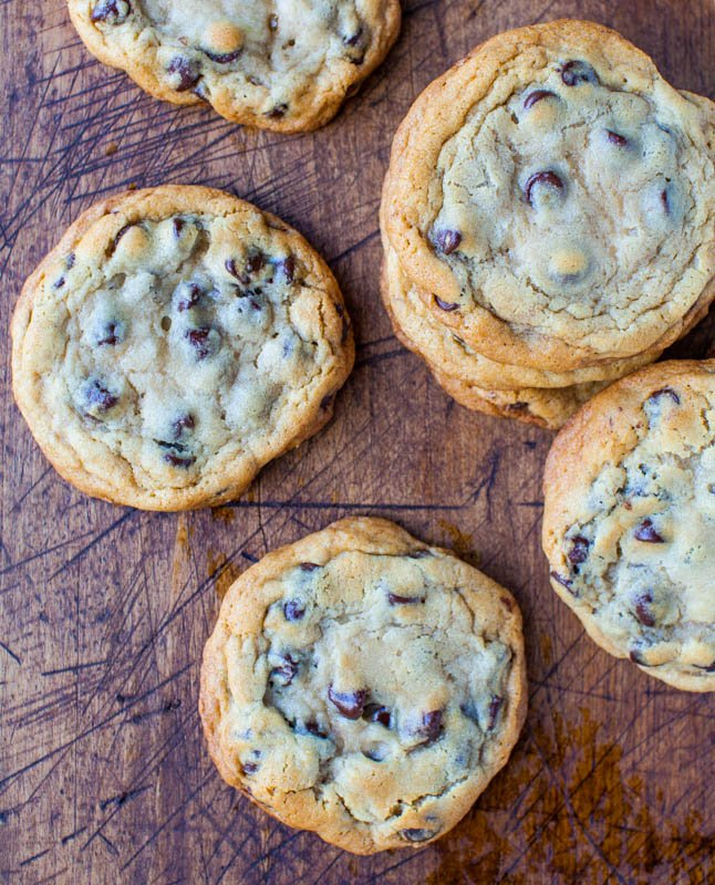 New York Times Chocolate Chips Cookies {from Jacques Torres} - Averie ...