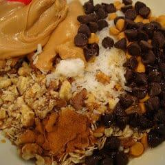 Vegan Maple Nut Chocolate Oat Clusters