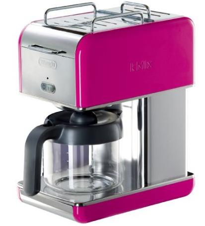 DeLonghi Kmix 10-Cup Drip Coffee Maker, Magenta