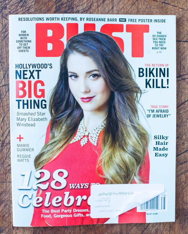 Bust magazine t