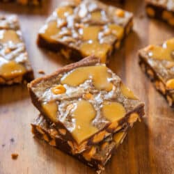 Browned Butter Caramel & Butterscotch Bars from @Averie Sunshine {Averie Cooks}