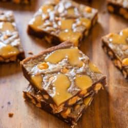 Browned Butter Caramel & Butterscotch Bars from @Averie Sunshine {Averie Cooks}