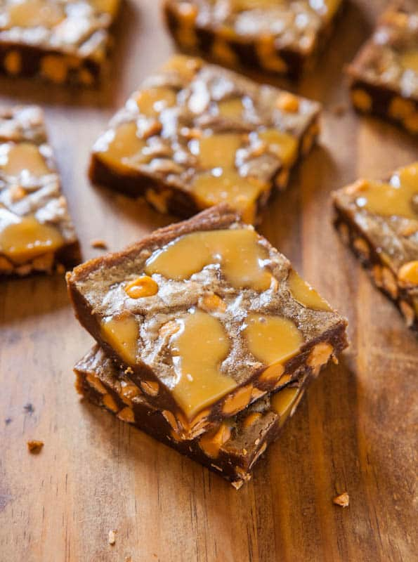 Browned Butter Caramel and Butterscotch Bars -