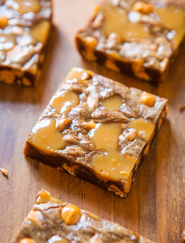 Browned Butter Caramel and Butterscotch Bars