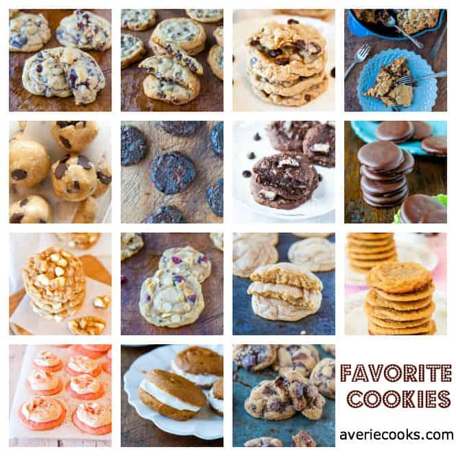 Favorite Cookies @Averie Sunshine {Averie Cooks}