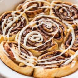 Nutella Cinnamon Rolls from @Averie Cooks {Averie Sunshine}