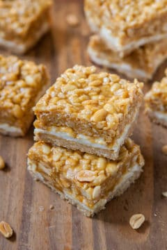 Peanut Chewy Payday Bars