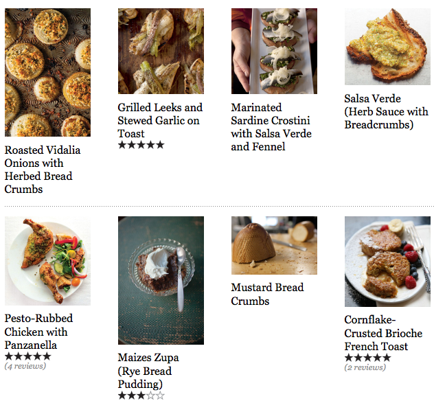 40 Recipes for Stale Bread pic collage