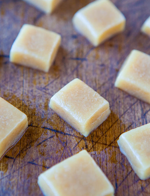 Seven Minute Microwave Caramels