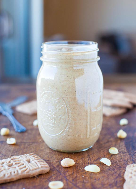 Homemade Cookie Butter Peanut Butter