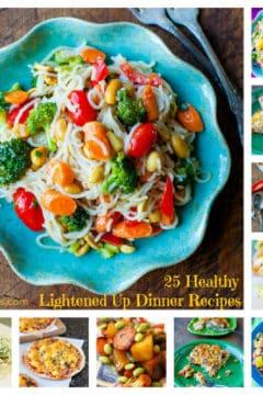 25 Lightened Up Dinner Recipes