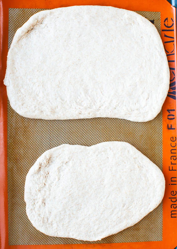 One Hour Whole Wheat Pizza Dough (vegan) averiecooks.com