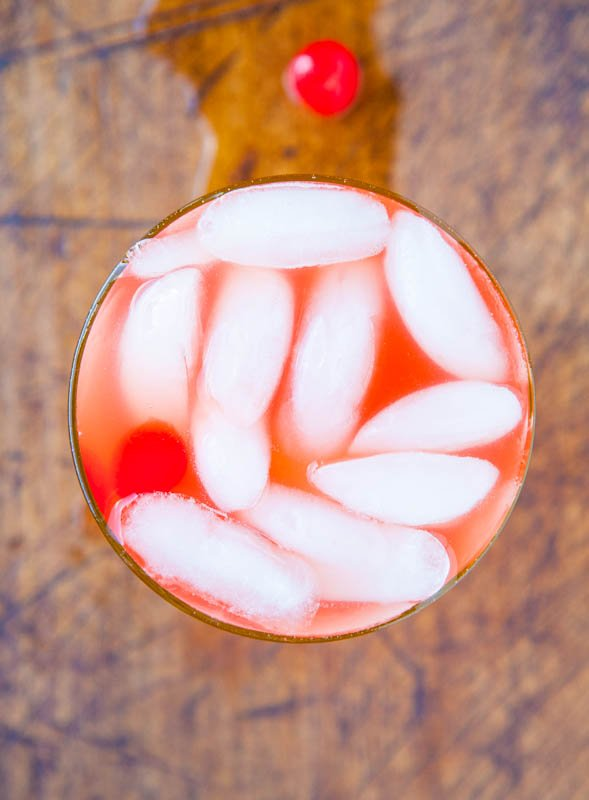 Rum Runner with Ice