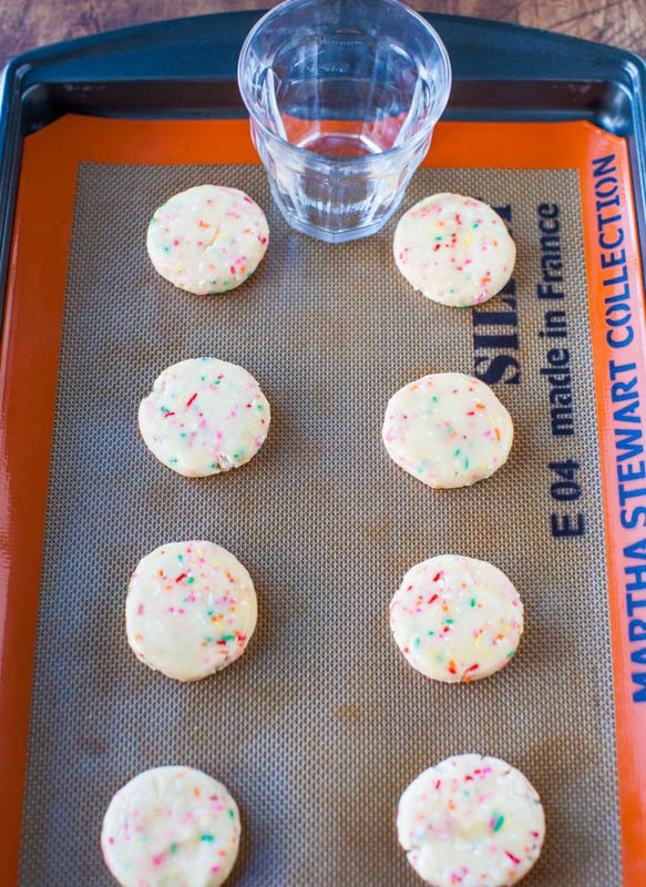Chewy Sugar Sprinkles Cookies averiecooks.com