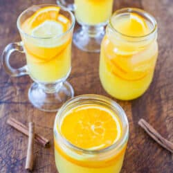 Chai-Spiced Triple Citrus Tea (serve warm or cold) averiecooks.com